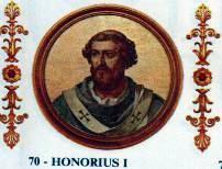 Heretycki papież Honoriusz I